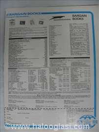 Katalog Bargain Books, 1 strana, A 4, England