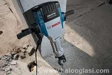 Beton asfalt cigla razbijanje sečenje bušenje