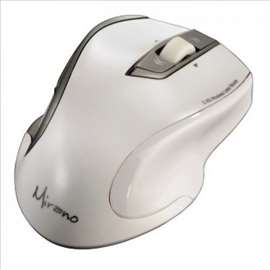 Bežični laserski miš, Mirano, beli