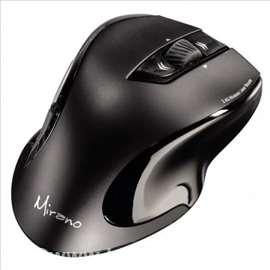Bežični laserski miš, Mirano, crni