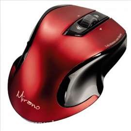 Bežični laserski miš, Mirano, crveni