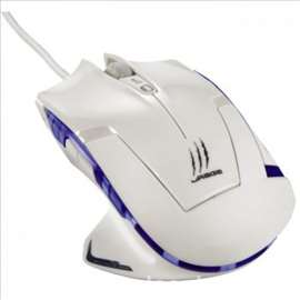 Hama gejmerski miš uRage Ice Dragon, beli