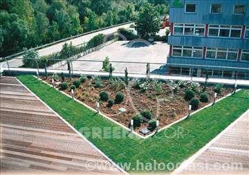 Zeleni zidovi i zeleni krovovi