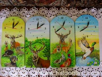Lovački motivi (satovi zidni)