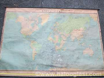 Karta sveta iz 1969. god