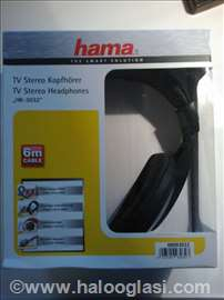 Slušalice za TV HAMA, 6 metara kabl novo