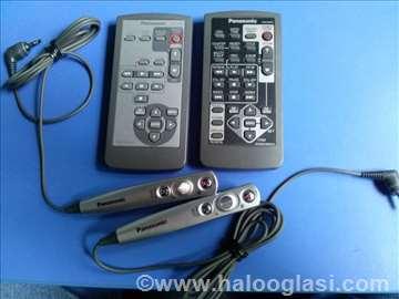 Panasonic miniDV daljinski i snapshotovi