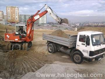 Autoprevozničke usluge, kamioni raznih veličina