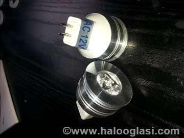 LED sijalice MR11 1W bele 12V