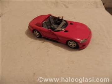 Burago Dodge Viper, Italy, 1:24, fali staklo