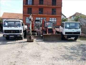 Usluge prevoza kamionima kiperima