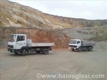 Prevoz po Beogradu kamionima kiperima