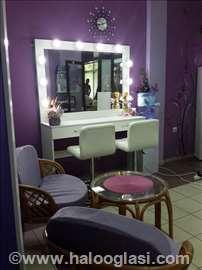 Makeup ogledalo 150x100 sa LED rasvetom