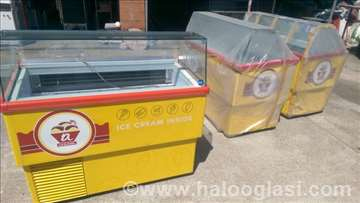Frizideri za sladoled sa 7 kaseta i frizom