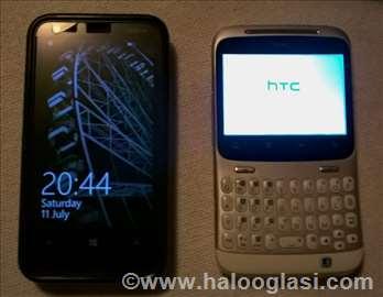 Nokia Lumia 620 i HTC Cha Cha