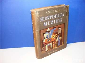 Historija muzike Josip Andreis, druga knjiga