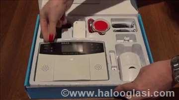 Bežični alarm set sa GSM dojavom PGST PG 500