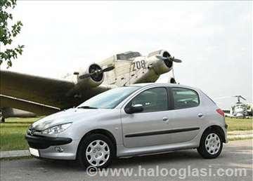 Peugeot 206 Hdi Benzin Enterijer