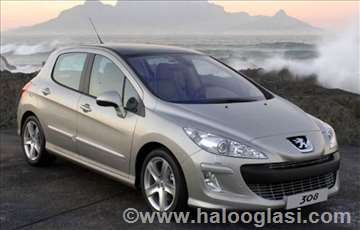 Peugeot 308 Hdi benzin svetla i signalizacija