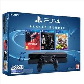 Akcija PS4 + 3 igrice akcija