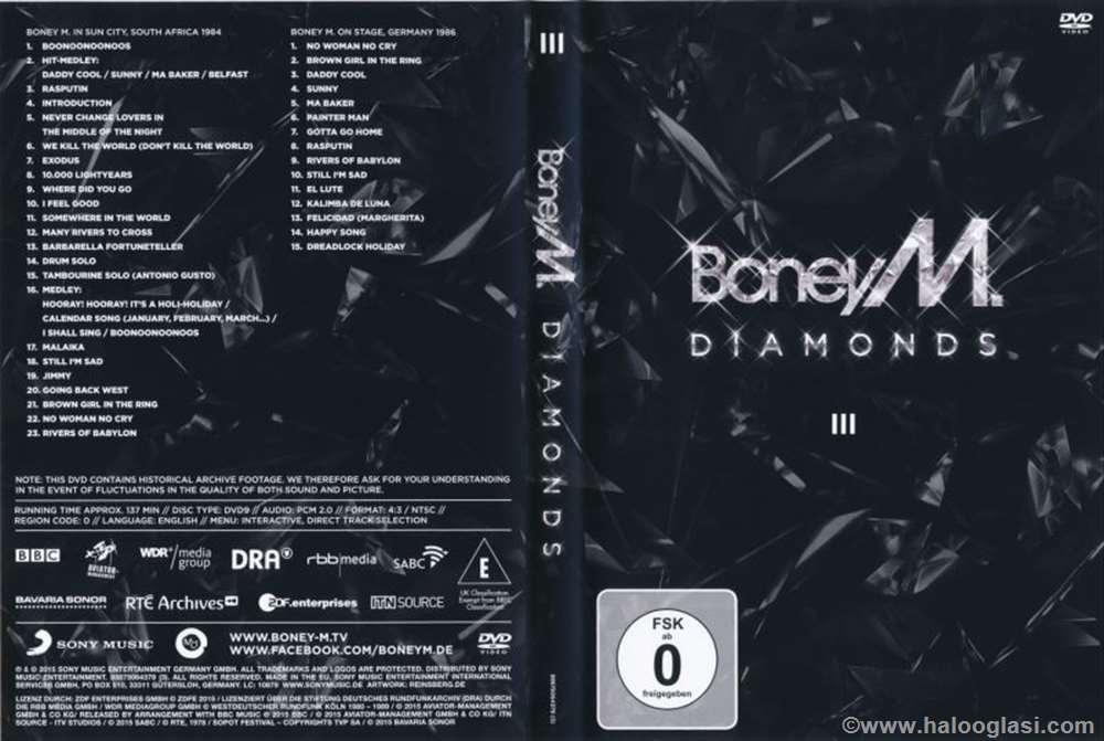 Boney M - Diamonds DVD 3 (DVD 9) | Halo Oglasi