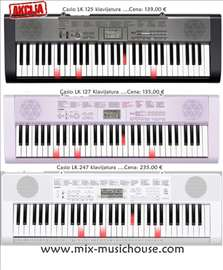 Casio klavijature LK serija na akciji