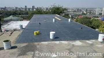Izvodimo sanacije krovova i terasa
