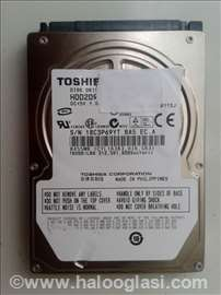 HDD Toshiba 160GB SATA za laptop