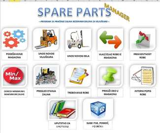 Spare Parts Manager