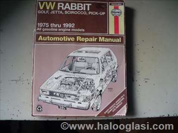 VW RABBIT Automobile  Repair Manual