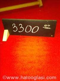Rezervacija i broj stola
