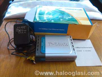 D-Link 10/100 fast ethernet switch