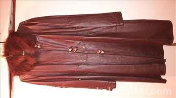 Kožni mantil