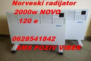 Norveški radijator DIPLOMAT 2000w NOVO