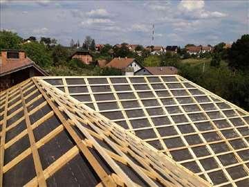 Izrada novih krovova i sanacija starih