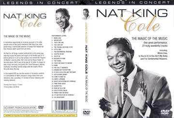 Nat King Cole - In Concert, The Magic Of The Music