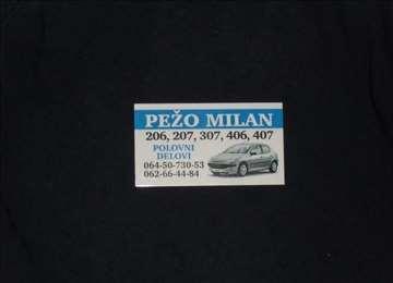 Peugeot 207 Hdi Razni Delovi
