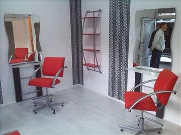 Šamponjera i ostala oprema za frizerski salon