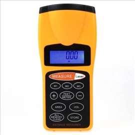 LCD ultrazvučni laserski merač razdaljine