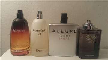 Muški i ženski parfemi testeri