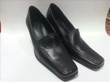 Crne cipele koža novo br. 35-41