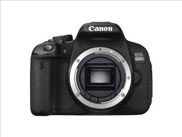 Canon EOS-650D body