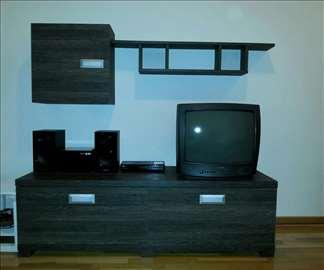 TV komoda sa bifeom i policom