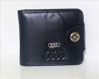 Kožni novčanik Audi