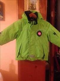 Zelena gumirana lego muška jakna vel 80, 12-18 mes