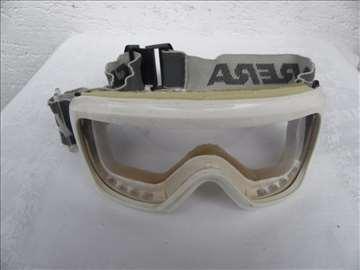 Ski naočare Carrera bele, staklo nije original