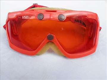 Ski naočare Gheltadus, staklo izgrebano.