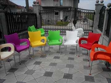 Stolice za bašte, lokale, kuće