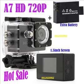 A7 HD Sportska vodootporna kamera