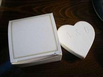 Magnet za frižider u obliku srca